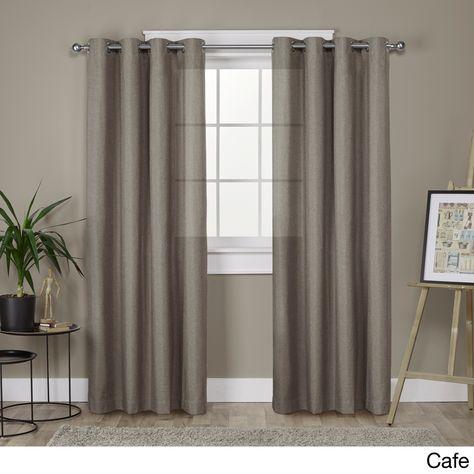 Clay Alder Home Sugar Creek Grommet Top Loha Linen Curtain Intended For Sugar Creek Grommet Top Loha Linen Window Curtain Panel Pairs (View 2 of 50)