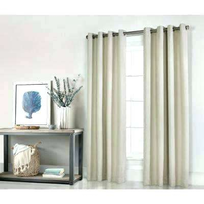 Clear Thermal Curtains Blackout Curtain Fabric Ivory Grommet With Regard To Embossed Thermal Weaved Blackout Grommet Drapery Curtains (View 13 of 42)