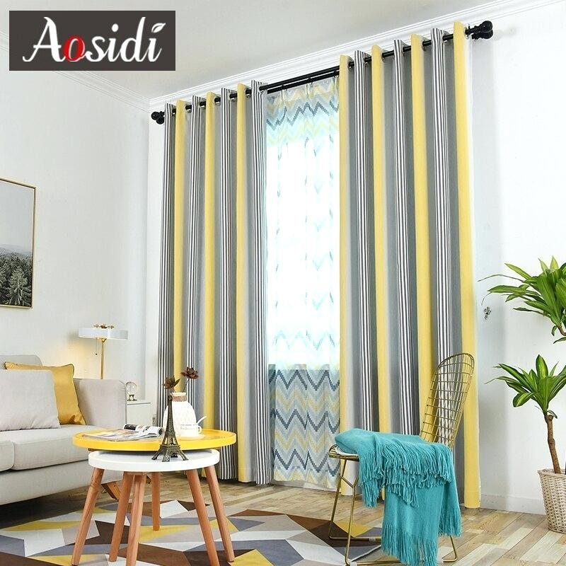 Color Block Curtains – Partidolibres (View 20 of 31)