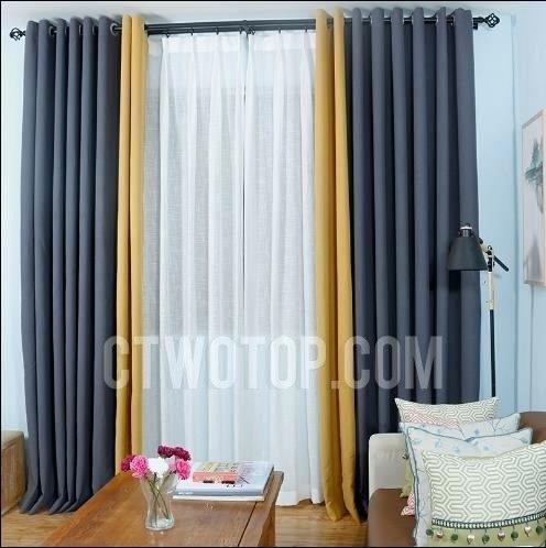 Color Block Curtains – Partidolibres (View 29 of 31)