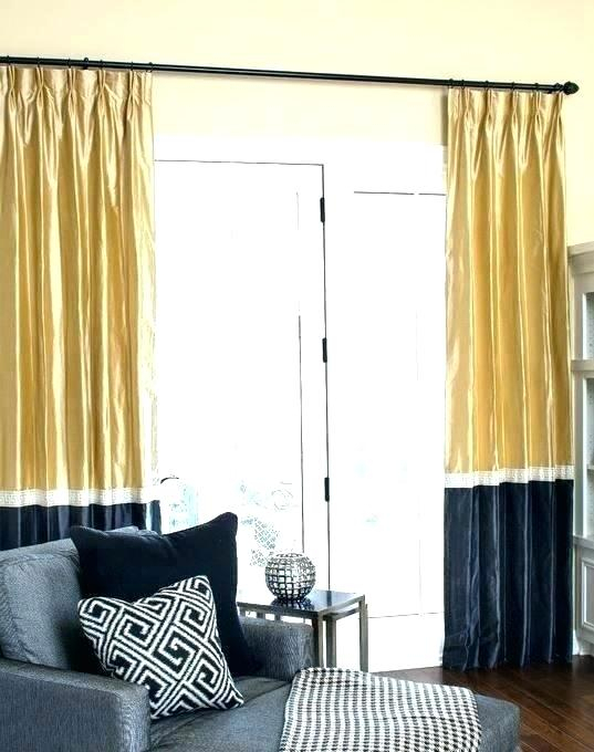 Color Block Drapes – Teamvent In Linen Button Window Curtains Single Panel (#13 of 40)
