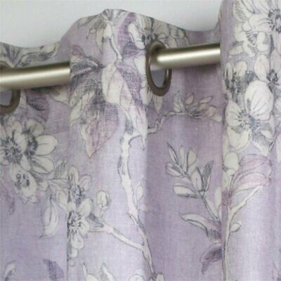 """Commonwealth Caldwell 63"""" Grommet Curtain Panel In Purple In Caldwell Curtain Panel Pairs (View 2 of 27)"""