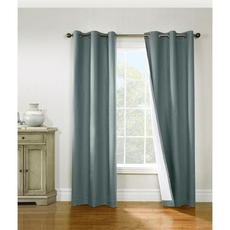 Commonwealth Thermalogic Weathermate Cotton Duck Insulated Within Insulated Cotton Curtain Panel Pairs (#11 of 50)