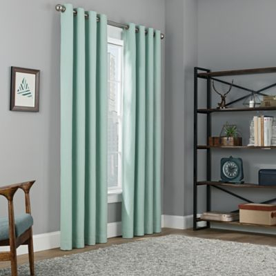 """Copley Square 108"""" Grommet Top Blackout Window Curtain Panel Intended For Eclipse Trevi Blackout Grommet Window Curtain Panels (View 5 of 26)"""