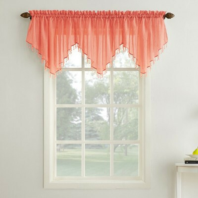 Coral Window Valance – Avalon Master (#8 of 40)