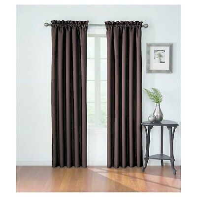 """Corrine Thermaback Blackout Curtain Paneleclipse; 42"""" X 84"""";  Espresso!!! New 885308423641 