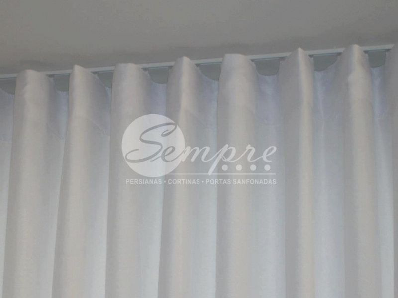 Cortina Trilho Suisso – Pesquisa Google | Cortinas Intended For Elowen White Twist Tab Voile Sheer Curtain Panel Pairs (View 10 of 36)
