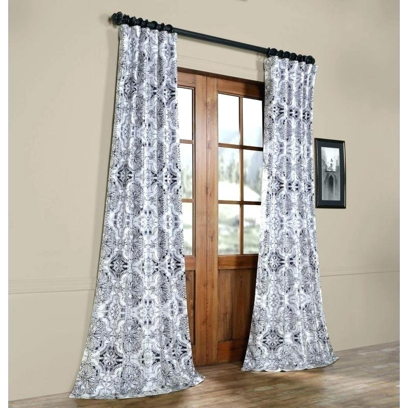Costco Blackout Curtains – Ziaranch Inside Faux Silk Extra Wide Blackout Single Curtain Panels (View 8 of 50)