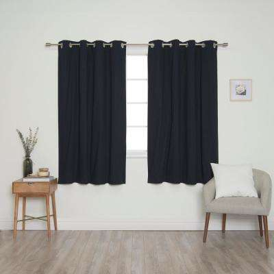 Cotton – Blue – Curtains & Drapes – Window Treatments – The Regarding Solid Cotton Curtain Panels (#14 of 47)
