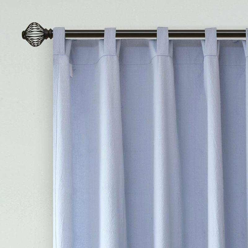 Cotton Curtain Panels – Trifatesaga In Solid Cotton Curtain Panels (#17 of 47)