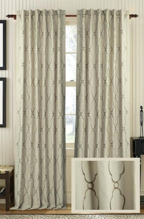 Cotton Curtain Panels White Cotton Curtain Panels 84 Cotton Within Solid Country Cotton Linen Weave Curtain Panels (#4 of 50)