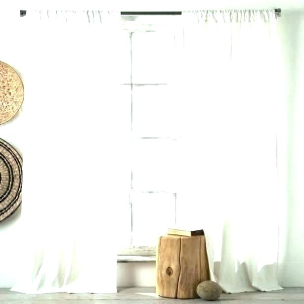 Cotton Curtains White – Betcon Inside Bark Weave Solid Cotton Curtains (View 11 of 50)
