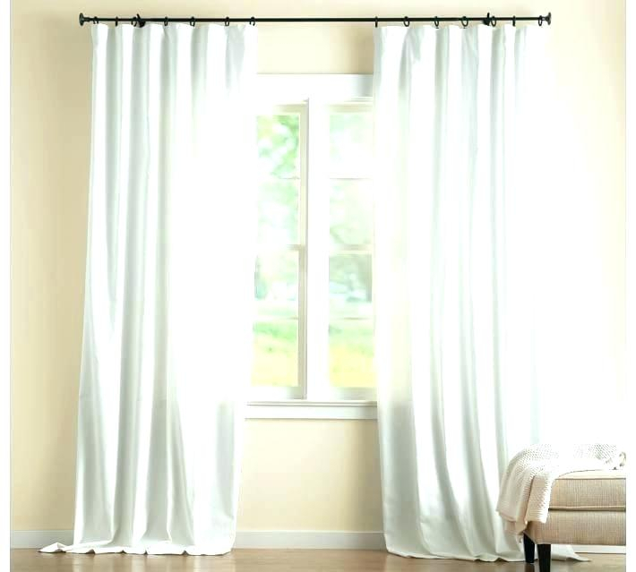 Cotton Linen Curtains – Socialvillage Inside Solid Country Cotton Linen Weave Curtain Panels (#7 of 50)