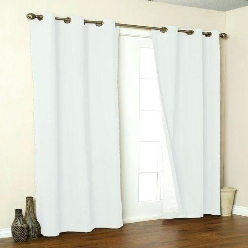Cotton Window Panels Pair Plum Solid Plush High Pile Velvet For Insulated Cotton Curtain Panel Pairs (#13 of 50)