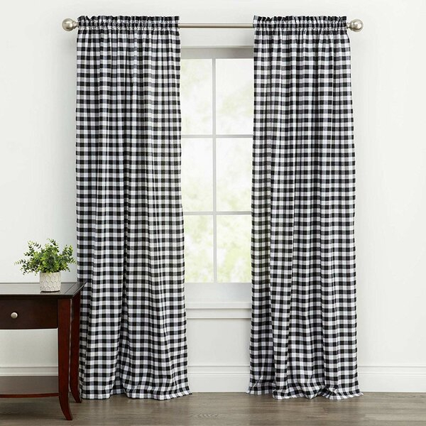 Country Chic Curtains | Wayfair With Bethany Sheer Overlay Blackout Window Curtains (View 7 of 50)