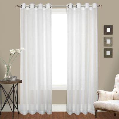 Popular Photo of Luxury Collection Cranston Sheer Curtain Panel Pairs