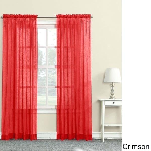 Crimson Red Curtains – Perfectprofit (View 5 of 41)