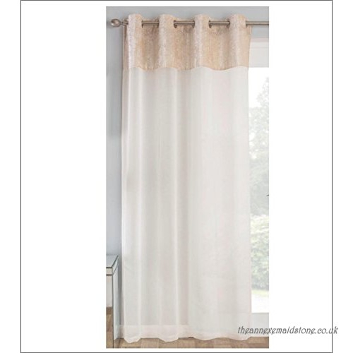 Crushed Sheer Voile Curtains With Regard To Andorra Watercolor Floral Textured Sheer Single Curtain Panels (View 10 of 46)