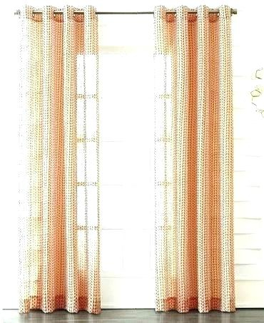 Crushed Voile Curtain Panels – Perledelsalento With Erica Crushed Sheer Voile Grommet Curtain Panels (#5 of 50)