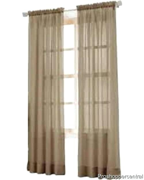 Crushed Voile Curtain Panels – Perledelsalento Within Erica Sheer Crushed Voile Single Curtain Panels (#9 of 41)