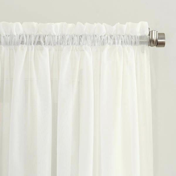 Crushed Voile Curtains – Tehzeeb (#11 of 50)