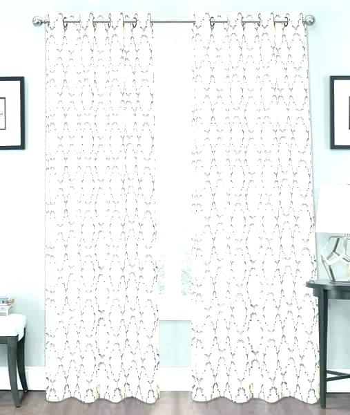 Crushed Voile Sheer Curtain Panel Pair Erica Tab Top In Erica Sheer Crushed Voile Single Curtain Panels (#13 of 41)