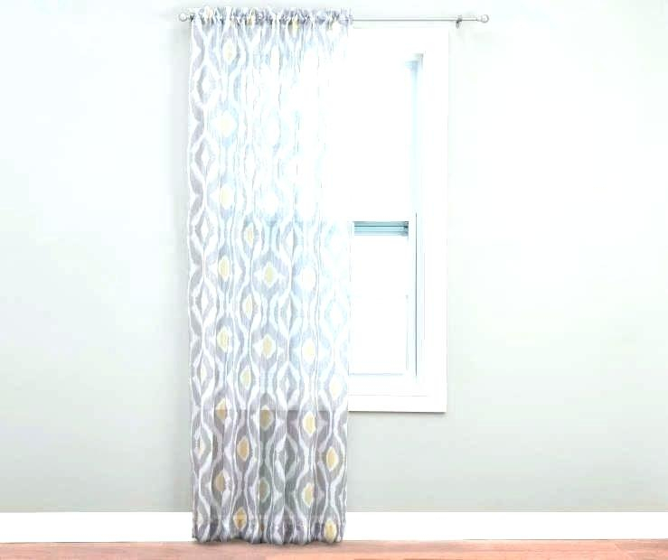 Crushed Voile Sheer Curtains Erica Curtain Panel Inside Erica Crushed Sheer Voile Grommet Curtain Panels (#13 of 50)
