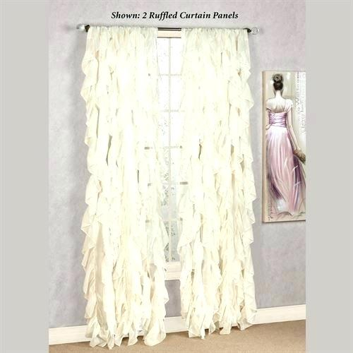 Crushed Voile Sheer Curtains – Home Models Regarding Erica Sheer Crushed Voile Single Curtain Panels (#14 of 41)