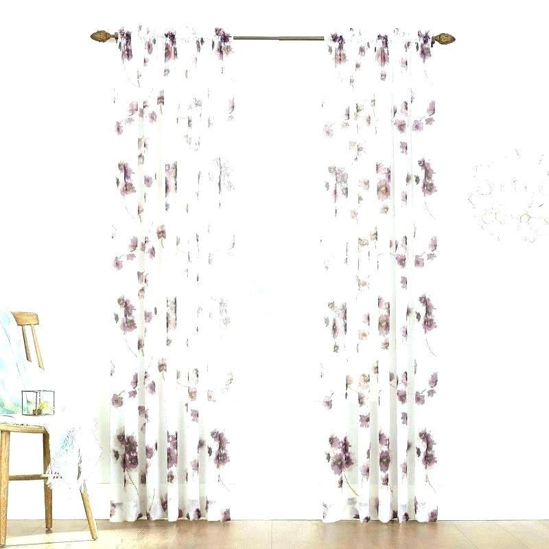 Crushed Voile Sheer Curtains – Witchmail (#11 of 50)