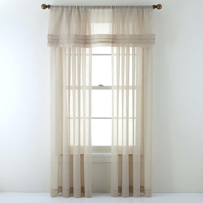 Crushed Voile Sheer Home Back Tab And Rod Pocket Window For Erica Crushed Sheer Voile Grommet Curtain Panels (#18 of 50)