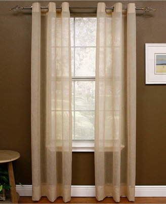 Crushed Voile Sheers – Shopstyle For Erica Crushed Sheer Voile Grommet Curtain Panels (#21 of 50)