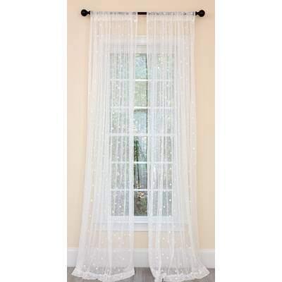 Cucina Swag Tier Kitchen Curtain In Vina Sheer Bird Single Curtain Panels (#9 of 38)