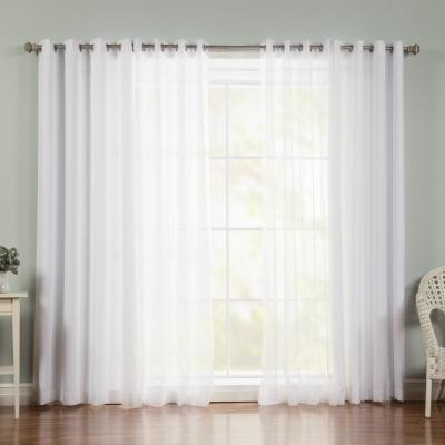 Curtain Fresh Arm And Hammer Odor Neutralizing Sheer Window Throughout Arm And Hammer Curtains Fresh Odor Neutralizing Single Curtain Panels (View 27 of 50)