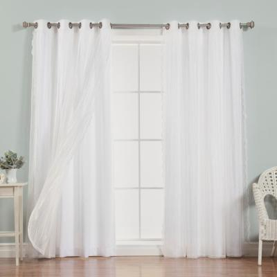 Curtain Fresh Arm And Hammer Odor Neutralizing Sheer Window With Regard To Arm And Hammer Curtains Fresh Odor Neutralizing Single Curtain Panels (View 7 of 50)