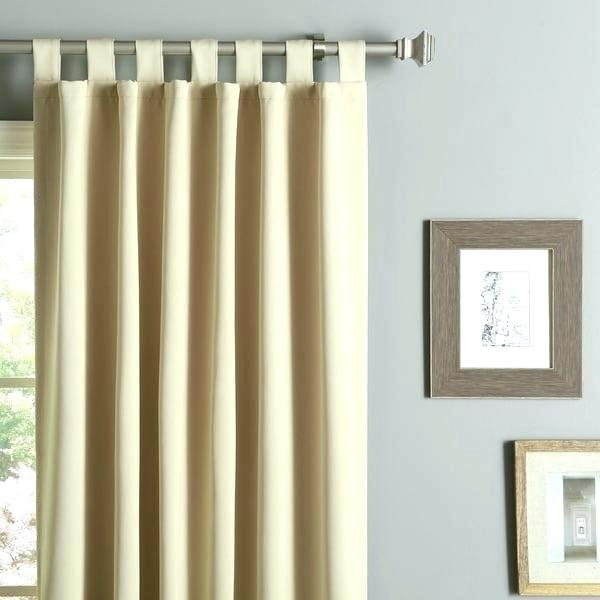 Curtain Panel Pairs Textured Taupe Inch Blackout Pair 95 In Insulated Grommet Blackout Curtain Panel Pairs (View 17 of 50)