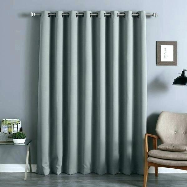 Curtain Panel Width – Tcontacto Within Antique Silver Grommet Top Thermal Insulated Blackout Curtain Panel Pairs (View 20 of 40)
