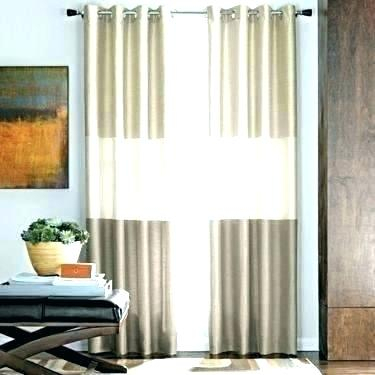 Curtain Panels For Sliding Glass Doors Outstanding Drapes Pertaining To Grommet Blackout Patio Door Window Curtain Panels (View 4 of 50)