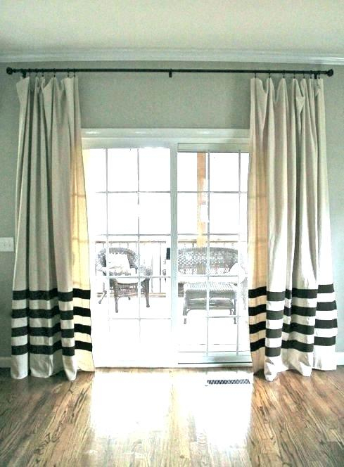 Curtain Patio Door – Ulaoslund (View 4 of 50)