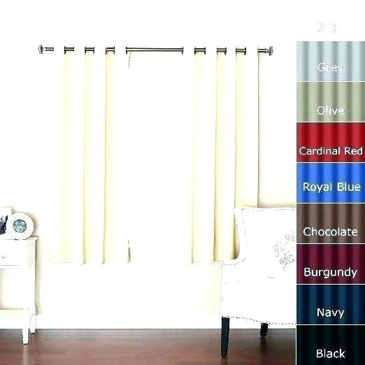 Curtains 63 Inch Length White Blackout – Spartner (View 19 of 50)