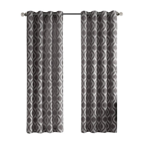 Curtains And Drapes For Geometric Linen Room Darkening Window Curtains (View 14 of 50)