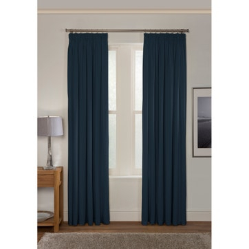 Curtains & Curtain Panels   Plain Curtains   La Redoute For Luxury Collection Faux Leather Blackout Single Curtain Panels (#13 of 42)