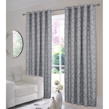Curtains & Curtain Panels | Plain Curtains | La Redoute Inside Luxury Collection Faux Leather Blackout Single Curtain Panels (View 32 of 42)