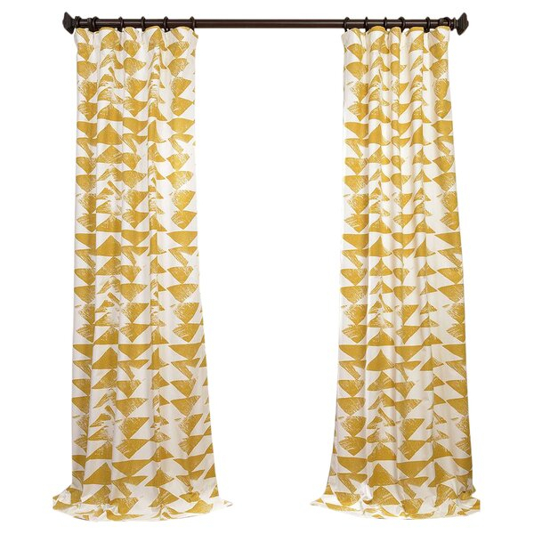 Curtains & Drapes In Ombre Faux Linen Semi Sheer Curtains (#15 of 50)