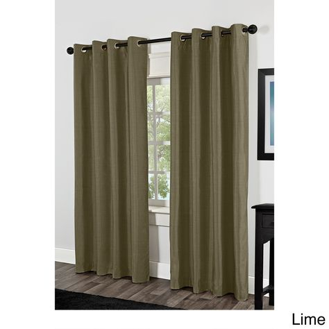 Curtains & Drapes Inside Silvertone Grommet Thermal Insulated Blackout Curtain Panel Pairs (#12 of 35)