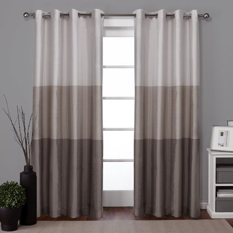 Curtains & Drapes Inside The Curated Nomad Duane Jacquard Grommet Top Curtain Panel Pairs (#7 of 50)