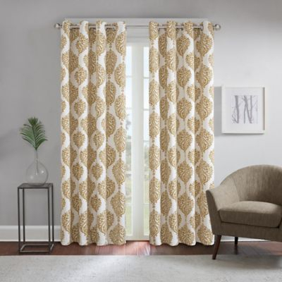 Curtains & Drapes Inside The Curated Nomad Duane Jacquard Grommet Top Curtain Panel Pairs (#6 of 50)