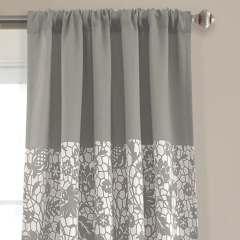 Curtains & Drapes With The Curated Nomad Duane Jacquard Grommet Top Curtain Panel Pairs (#9 of 50)