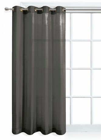 Curtains | Walmart Canada Regarding Geometric Print Textured Thermal Insulated Grommet Curtain Panels (View 15 of 45)