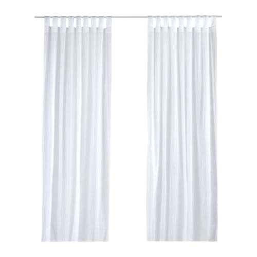 Curtains White Pertaining To Overseas Leaf Swirl Embroidered Curtain Panel Pairs (View 33 of 50)