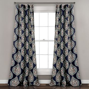 Curtains – Window Treatments – Home Decor Throughout Julia Striped Room Darkening Window Curtain Panel Pairs (#6 of 37)